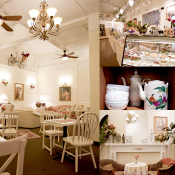 Pillow case parties satin moon 39 s blog for Tea room interior design ideas