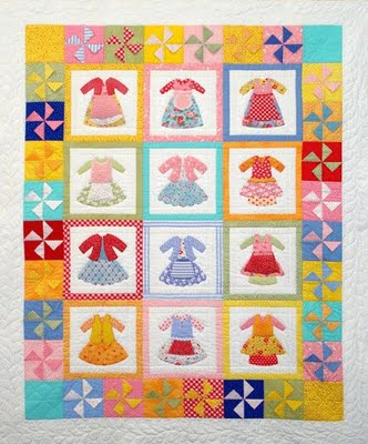 Doll Dress Quilt & 169 Best Dress Quilt Images On Pinterest ... : doll dress quilt - Adamdwight.com