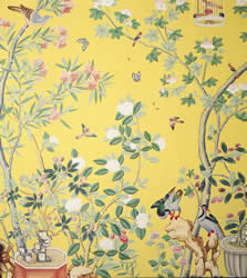 England the royal pavillion chinese orient exotic for Chinese style wallpaper uk