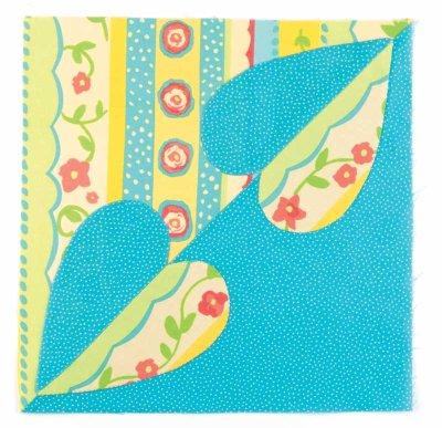Bluebird of Happiness African Flower Crochet Pattern