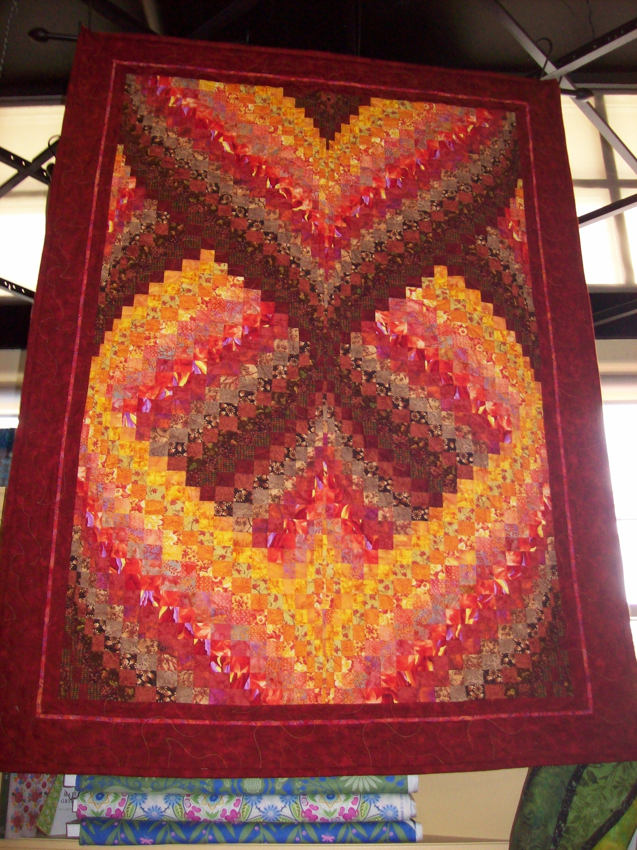bargello quilts | Satin Moon's Blog