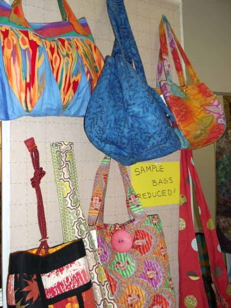 need a one-of-a-kind bag?  We have great prices on our sample bags!